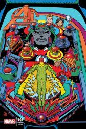 Avengers A.I. #3 (Michael Allred Artist Variant Cover)