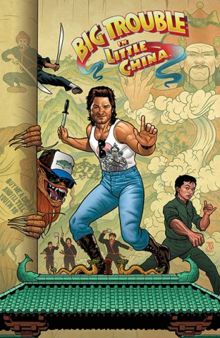 Big Trouble In Little China #1 (Cover B Joe Quinones)