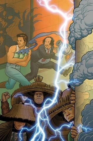 Big Trouble In Little China #4 (Cover B Joe Quinones)