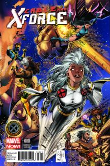 Cable And X-Force #8 (Whilce Portacio X-Men 50th Anniversary Variant Cover)