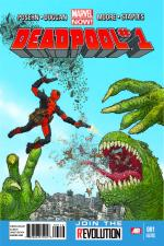 Deadpool #1 (Geoff Darrow 2nd Printing Variant Cover)