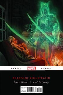 Deadpool Killustrated #3 (Of 4)(Michael Del Mundo 2nd Printing Variant Cover)