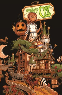 Emerald City Of Oz #1 (Of 5)(Chris Bachalo Variant Cover)