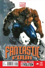 Fantastic Four #3 (Gabriele Dell'Otto Variant Cover)