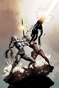 Fearless Defenders #1 (Mike Deodato Variant Cover)