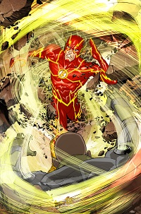 Flash #8 (Bernard Chang Variant Cover)