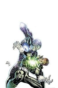 Green Lantern Corps #17 (Andy Kubert Black & White Variant Cover)