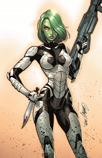 Guardians Of The Galaxy #4 (J. Scott Campbell Variant Cover)