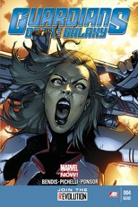 Guardians Of The Galaxy #4 (Sara Pichelli 2nd Printing Variant Cover)