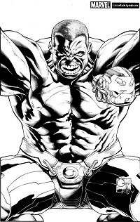 Indestructible Hulk #1 (Joe Quesada Sketch Variant Cover)