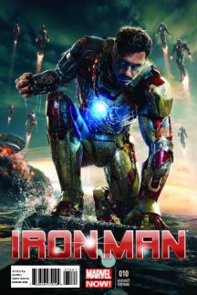 Iron Man #10 (Iron Man Movie Variant Cover)