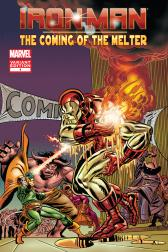 Iron Man The Coming Of The Melter (Gil Kane Variant Cover)
