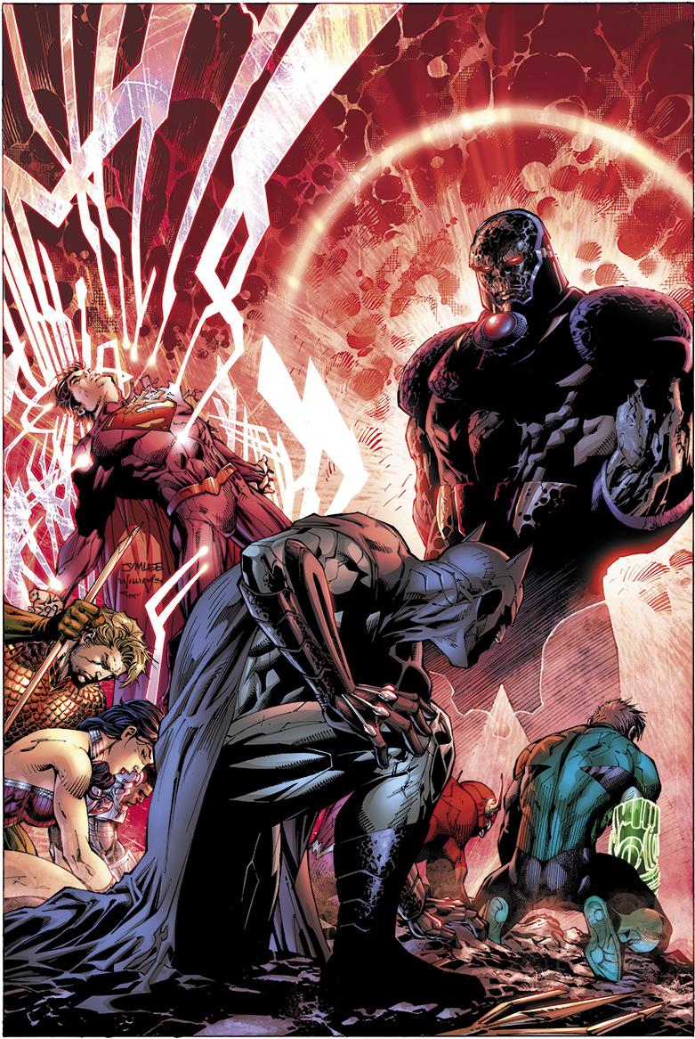 JIM LEE VARIANT DC COMICS OF 6 COVER #6
