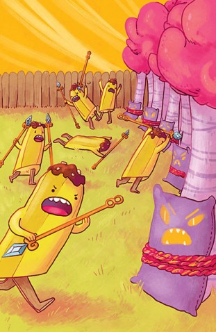 Adventure Time Banana Guard Academy #2 (Of 6)(Cover B Kelsey Sunday)