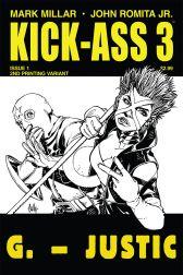 Kick-Ass 3 #1 (Of 8)(Cully Hamner 2nd Printing Variant Cover)