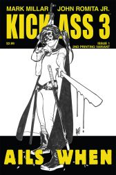 Kick-Ass 3 #1 (Of 8)(Adam Hughes 2nd Printing Variant Cover)
