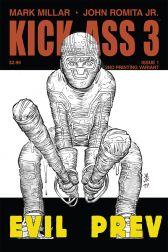 Kick-Ass 3 #1 (Of 8)(John Romita Jr 2nd Printing Variant Cover)