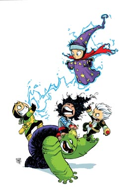 Young Avengers #1 (Skottie Young Baby Variant Cover)