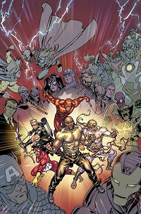 New Avengers #34 (David Yardin Final Issue Variant Cover)(Final Issue)