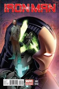 Iron Man #2 (Greg Land Artist Variant Cover)