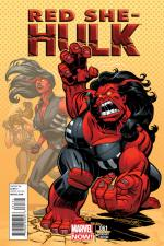 Red She-Hulk #61 (Dave Williams Variant Cover)