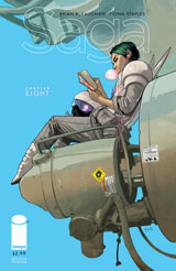 Saga #8 (2nd Printing Variant Cover)