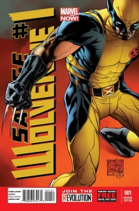 Savage Wolverine #1 (Joe Quesada Variant Cover)