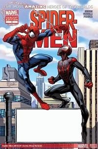 Spider-Men #1 (Of 5)(Comic Shop Variant Cover)