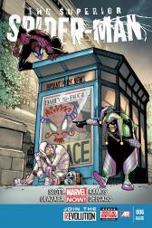 Superior Spider-Man #6 (Humberto Ramos 2nd Printing Variant Cover)