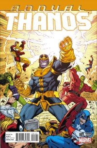 Thanos Annual #1 (Ron Lim Variant Cover)