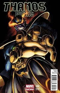 Thanos Rising #4 (Of 5)(Mike Deodato Variant Cover)