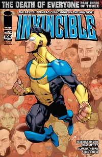 Invincible #100 (2nd Printing Variant Cover)