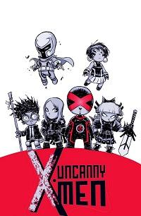 Uncanny X-Men #1 (Skottie Young Variant Cover)