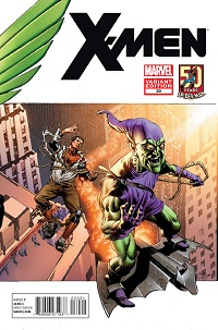 X-Men #30 (Amazing Spider-Man In Motion Variant Cover)