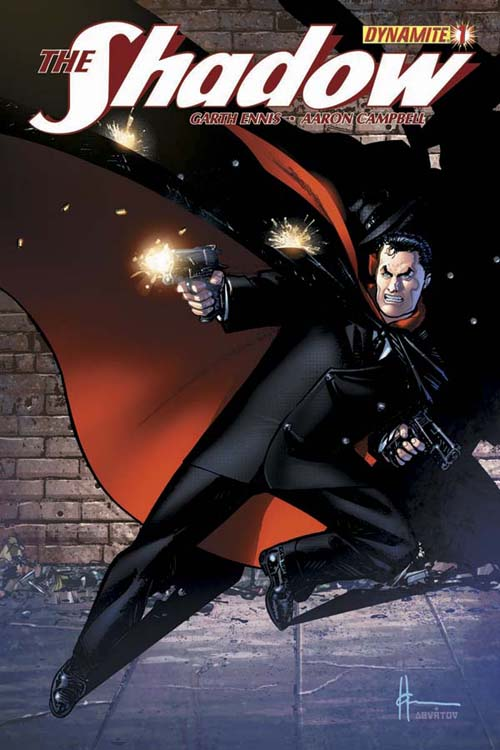 garth ennis and dynamite bring back the shadow this april