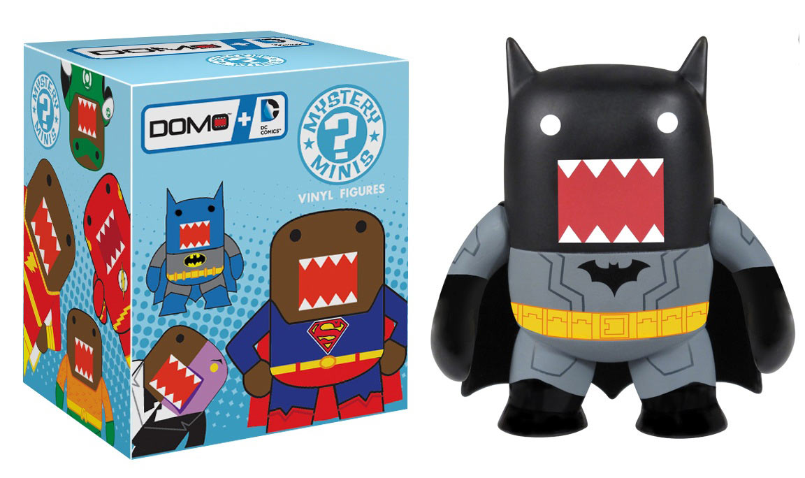 Domo X DC Comics line launches February 2013