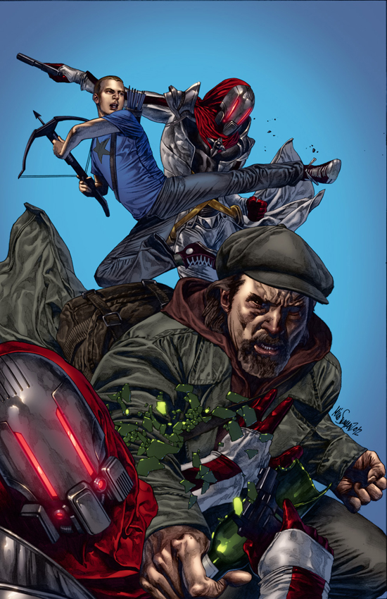 ARCHER AND ARMSTRONG #1