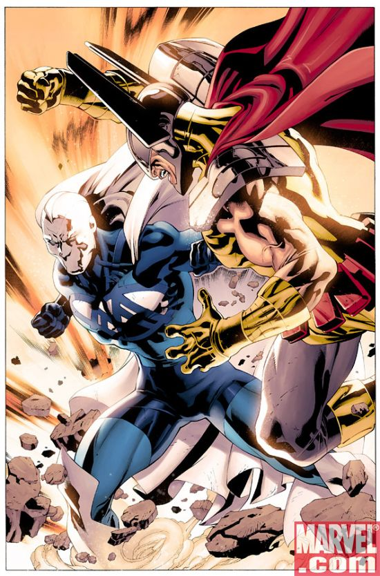 Blue Marvel 1 Preview