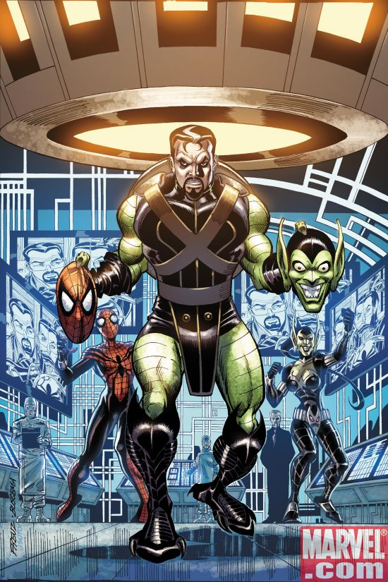 Spider-Girl, War Machine, Guardians Get Bad Guys Covers