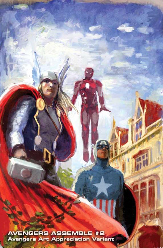 Avengers Assemble #2 (Stephanie Hans Avengers Art Appreciation Variant Cover)