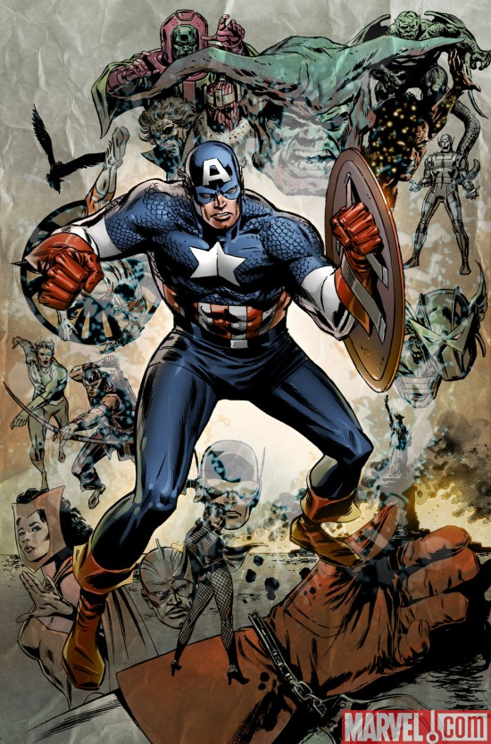 there's no bigger super hero than Captain America and mainstream media