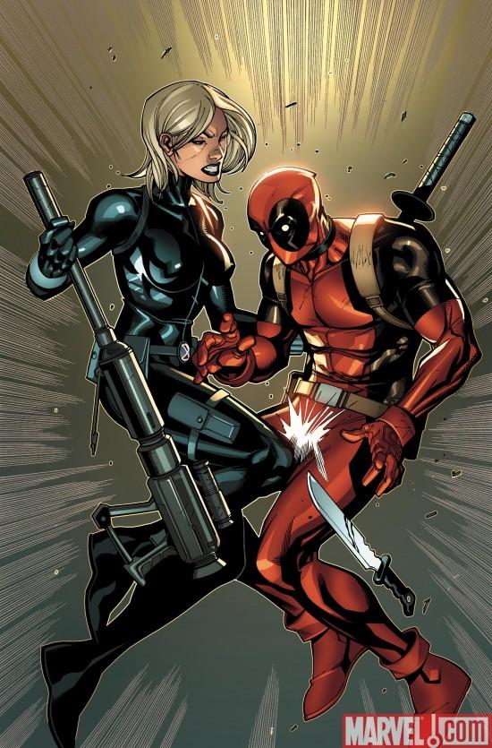 Black Widow and Deadpool