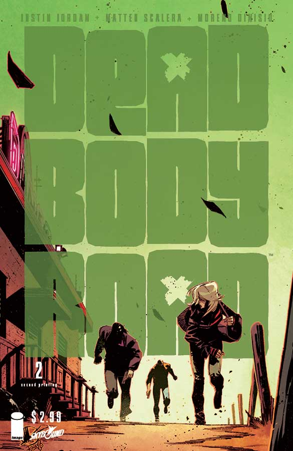 second printing of DEAD BODY ROAD #2