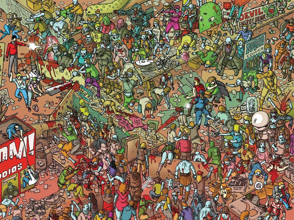 zombies vs superheroes