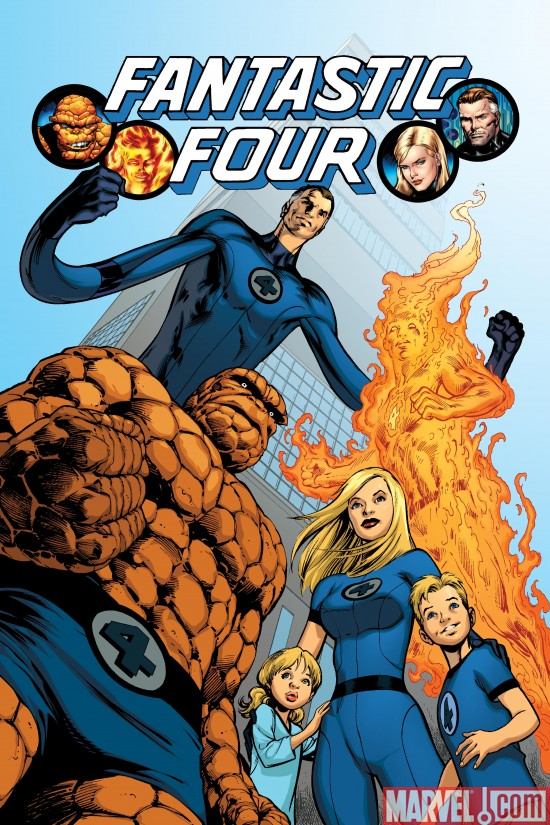 Presenting The New Fantastic Four Logo