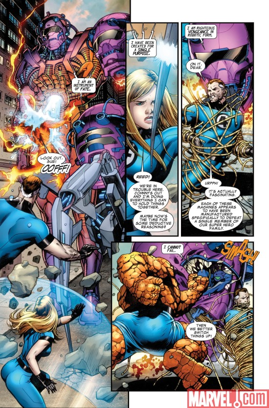 A First Look Inside Fantastic Four 570