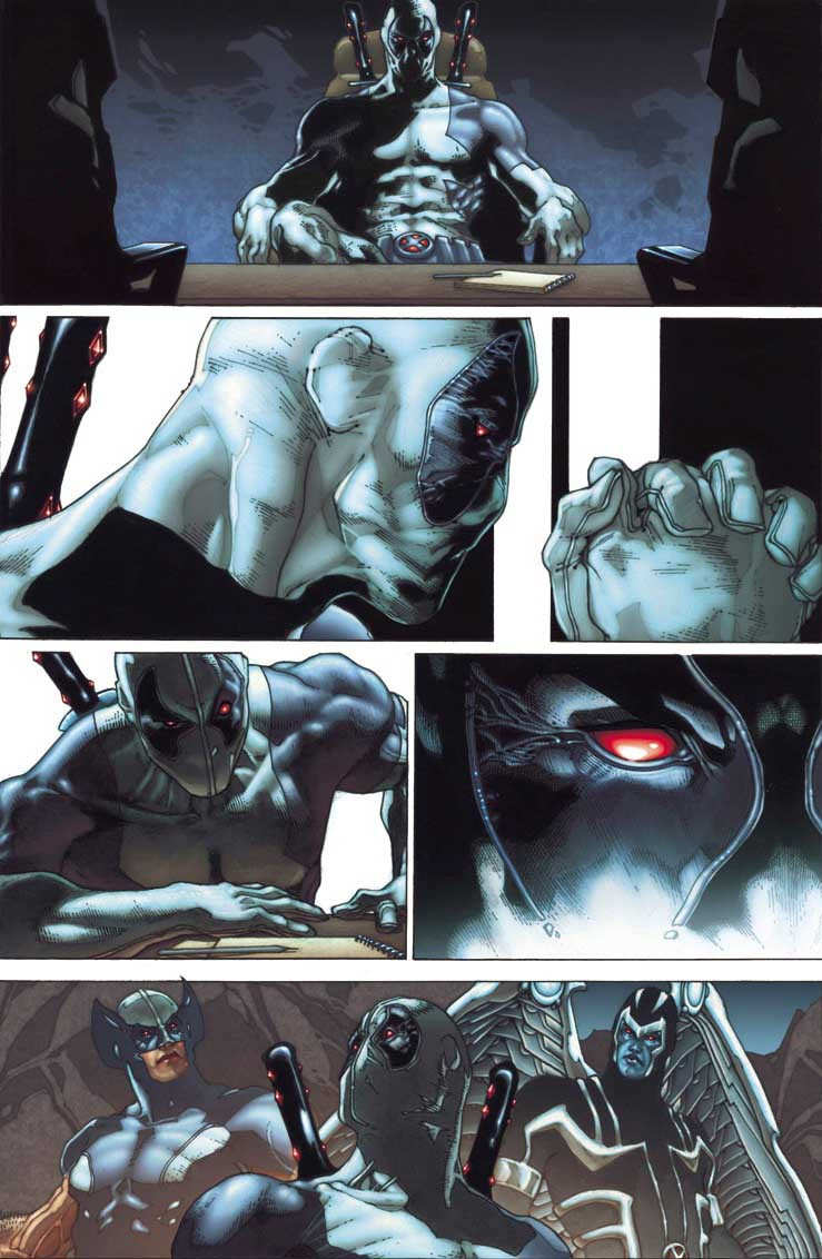 Fear Itself >> First Look at FEAR ITSELF: UNCANNY X-FORCE #1