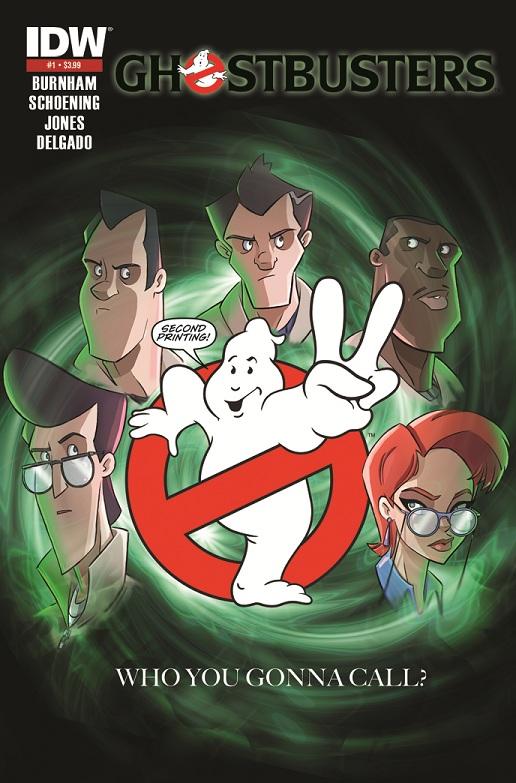 Ghostbusters #1 (Dan Schoening 2nd Printing Variant Cover)