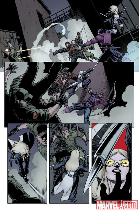 Crossfire Book 5 >> First Look At HAWKEYE AND MOCKINGBIRD #3
