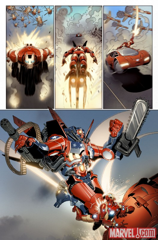 Man 32 Indicted In Alleged Misconduct With 14 Year Old: First Look At INVINCIBLE IRON MAN #32